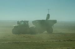 Grain Cart in Dust (Bracus Triticum) Tags: grain cart dust harvest アルバータ州 alberta canada カナダ 10月 十月 神無月 かんなづき kannazuki themonthwhentherearenogods 平成30年 2018 autumn october