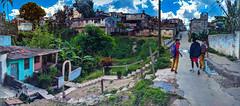The Panoramas - Calle Juan Bruno Zayas en el puente del rio Bélico (lezumbalaberenjena) Tags: villas villa clara cuba 2019 lezumbalaberenjena panorama panoramic santa rio belico calle street juan bruno zayas