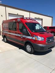 Arizona ambulance (CasketCoach) Tags: ambulance ambulancia ambulanz ambulans rettungswagen krankenwagen paramedic ems emt emergencymedicalservice firefighter fordtransit