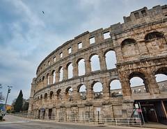 The Pula Arena II (Eadbhaird) Tags: croatia istria pula arena hrv