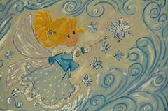 С Новым Годом друзья! (Angelok-Happy) Tags: новыйгод сказка рисунок феечка желаниеnewyear fairytale desire drawing gouache canvas holiday