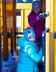 Durango (23 of 65) (stevenroundrock) Tags: durango silverton train snow mountains colorado narrowguage steamengine mountainsnow