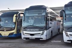 Go Ahead East Yorkshire 2, BF68LCW. (EYBusman) Tags: go ahead north east yorkshire motor services eyms hull bus coach brand new anlaby road depot caetano levante triaxle scania k410eb6 bf68lcw eybusman