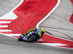 Valentino Rossi at the Grand Prix of the Americas (Tad 20D) Tags: motorcycle racing valentino rossi moto gp austin texas grand prix americas cota red bull valey yellow 46 vr46 action sports speed fast track race