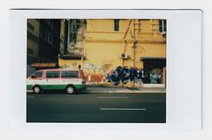 (Hem.Odd) Tags: instaxmini90 instant fujifilm malaysia kualalumpur street van graffiti