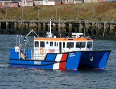 Thames Guardian Blyth 111011 (silvermop) Tags: ship boats ships sea workboats port river blyth thamesguardian