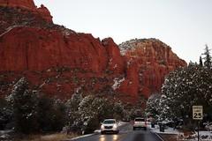 IMG_2857 (Karen Wilson Hagy) Tags: sedona redrocks oakcreekcanyon snow desert muledeer antlers clouds arizona