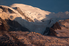 Sunset at the Mont Blanc / Monte Bianco (luigig75) Tags: montblanc montebianco mountains mountain montagna snow neve perenne sunset summer 2018 ice glacier ghiacciai canonef70200mmf4lusm canon 70d france francia chamonix landscape paesaggio alpi