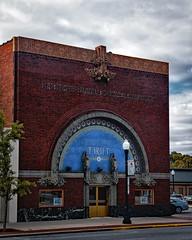 Thrift (Pete Zarria) Tags: ohio bank jewel box sullivan architecture small town city sign