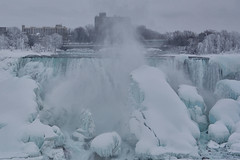 Winter Wonder 3 - The Wonder of Niagara 3 (remiklitsch) Tags: winterwonderseries series niagarafalls polarvortex nikon remiklitsch march 2015 nature falls winter snow ice frozen colorofwinter americanfalls panorama panoramic landscape