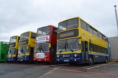 Dublin Bus AV169 00-D-70169 - AV171 00-D-70171 - Driver Trainer AV85 00-D-40085 - AV162 00-D-70162 (Will Swain) Tags: dublin broadstone depot 16th june 2018 bus buses transport travel uk britain vehicle vehicles county country ireland irish city centre south southern capital av162 00d70162 av 162 av169 00d70169 av171 00d70171 driver trainer av85 00d40085 169 171 85