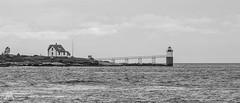 Ram Island Light -4933 (NWPaddler) Tags: 2018 boothbayharbor coast harbor me maine mainecoast nikon ocean september summer vacation ramisland lighthouse