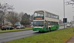 PN52 XBO, Ipswich Buses Lowlander 55, Heath Road, 18th. February 2019. (Crewcastrian) Tags: ipswich buses ipswichbuses transport heathroad daf eastlancs lowlander pn52xbo 55