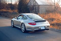 Porsche 911 Carrera   997.2   Platinum Silver (Peter Nowacki) Tags: sigma sigma50mm 50mmf14 porsche 911 porsche911 997 carrera 911carrera porschecarrera 9972 bc racing coilovers platinum silver 991 lip