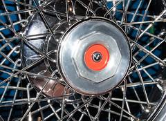1929 Duesenberg J-111 Dual Cowl Phaeton Spare Tire Spokes (ksblack99) Tags: duesenberg 1929 j111 dualcowl phaeton automobile classiccar gilmorecarmuseum hickorycorners michigan tire spokes