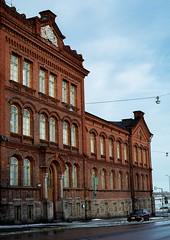 Building shot from Maurinkatu (Antabus-Antti) Tags: helsinki old building 1900s finland jaguar car