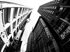 Corner of Locust and 15th (Philadelphia) (MassiveKontent) Tags: streetphotography bwphotography streetshot architecture geometric lines symmetry building bw contrast city monochrome urban blackandwhite streetphoto shadows perspective philadelphia metropolis america cityscape usa dark downtown buildings architect structure district philly pa pennsylvania explore 215 gopro skyscraper glass united states sky