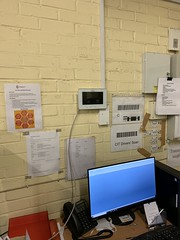 "Video Door Entry System with 2 Screens, Installed for CSS Andover, England. • <a style=""font-size:0.8em;"" href=""http://www.flickr.com/photos/161212411@N07/46315435895/"" target=""_blank"">View on Flickr</a>"