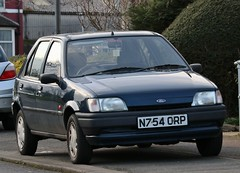 N754 ORP (Nivek.Old.Gold) Tags: 1995 ford fiesta frascati 5door 1299cc