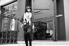 MaxMara | Avenue Montaigne | Paris France (Paul Tocatlian | Happy Planet) Tags: paris shopping shops france blackwhite blackwhitephotography vietnamese fashion dior christiandior prada maxmara happyplanet hannahdo asiafavorites