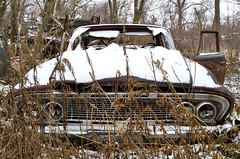 . (Dave Summer) Tags: old abandoned car snow ai24mmf2