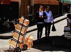Guanajuato Mexico (klauslang99) Tags: streetphotography klauslang guanajuato mexico people girls bottles street