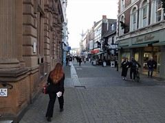 Guildhall Street at High Street, Lincoln (heffelumpen9) Tags: lincoln lincolnshire england