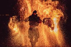 Murten Licht-Festival (endorphin75) Tags: installation night morat feu switzerland follet murten light suisse lumières lichtfestival schweiz art fire arteplages festival 2019 embers licht