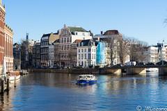 POLICIA DEL CANAL (josmanmelilla) Tags: amsterdam holanda sol sony dia agua pwmelilla pwdmelilla flickphotowalk pwdemelilla