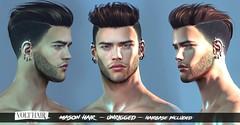 Mason Hair @ equal10 (✪Tabou✪Volthair owɴer) Tags: sl hair volthair equal10 en mesh event new man