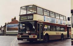 KentishBus-559-L559YCU-Bexleyheath-090196b (Michael Wadman) Tags: l559ycu volvoolympian route269 bexleyheath kentishbus