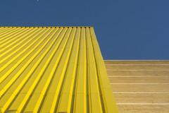 Lines and lines (Jan van der Wolf) Tags: map185340v yellow lines facade lijnen lijnenspel playoflines interplayoflines gevel gebouw geometric geometry geometrisch