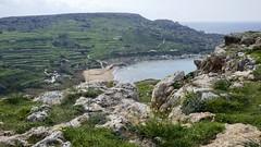 We've to get down ... (goforchris) Tags: malta hf hfholidays walkingholidays mgarr cliffs
