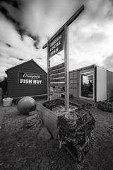 Dungeness Fish Hut (Kam Sanghera) Tags: canon eos 5d mark iii ef1124mm f4l usm ef1124 mm ef 1124mm ef1124mmf4lusm dungeness fish hut dungenessfishhut nik silver efex kent niksilverefex