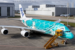 ANA_A380_JA382A_20190326_XFW-12 (Dirk Grothe | Aviation Photography) Tags: ana all nippon airways a380 ja382a flying honu rollout paintshop xfw