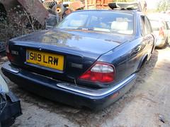 1998 Jaguar XJ8 Sport (occama) Tags: s119 lrw 1998 jaguar xj8 sport scrap old car british cornwall uk