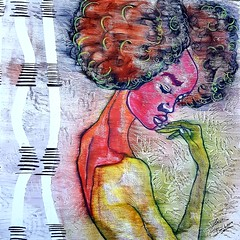 Sharika (franck.sastre) Tags: art picture painting colors africa eyes lips mujer fashion style francksastre