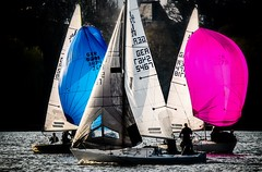 Hamburg - Aussenalster - Segeln (Pana53) Tags: photographedbypana53 pana53 hamburg segeln segelboote alster binnensee farben freieundhansestadthamburg sport frühling nikon nikond500
