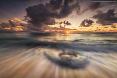 The Rising Sun @ Mahe, Seychelles (Avisekh) Tags: mahe seychelles indianocean sunrise golden wwwavisekhphotographycom foreground water longexposure nikon d850 1424f28 lee filters gnd polarizer