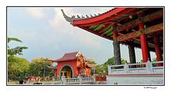 admiral cheng ho shrine (harrypwt) Tags: harrypwt semarang java city sampokong kelenteng shrine smartphone red people huaweip20pro p20pro architecture building worship