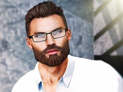 Beard is not a fad, beard is a lifestyle. (Greg Noyes) Tags: