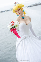 Bowser's Bride (S1Price Lightworks) Tags: super mario bowser bowsette booette bride cosplay girl modelkatuscon 2019 canon eos r water fun beauty