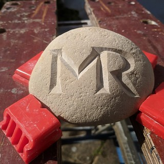 M.R. test stone for commission project.