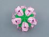Nastia (masha_losk) Tags: kusudama кусудама origamiwork origamiart foliage origami paper paperfolding modularorigami unitorigami модульноеоригами оригами бумага folded symmetry design handmade art