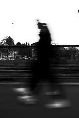Moonwalker (stefankamert) Tags: moonwalker blur grain blurry walking man street ricoh gr grii ricohgr 28mm stefankamert noir noiretblanc blackandwhite blackwhite