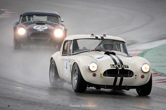 Shelby Cobra 289 (Antoine Dellenbach Photography) Tags: worldcars car race racing circuit motorsport eos automotive automobiles automobile racecar sport course lightroom coche photography photographie vintage historic peterauto auto canon legend lemans atmosphere speed eosr 100400 circuitbarcelonacatalunya mirrorless spain endurance rain shelby cobra 289 289ci