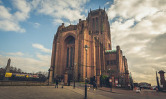 Liverpool Cathedral. (Ian Emerson (Thanks for all the comments and faves) Tags: cathedral liverpool liverpoolcathedral architecture clouds eveningsun outdoor canon6d canon ianemerson anglican 1904 merseyside greatbritain unitedkingdom