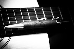 Faber (Angelo Petrozza) Tags: faber fabriziodeandrè chitarra guitar song canzone angelopetrozza biancoenero blackandwhite smcdfa100mmf28macrowr