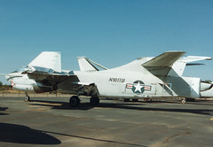 ERA-3B 146446 N161TB Thunderbird Aviation (spbullimore) Tags: states united navy us usn n161tb 146446 thunderbird aviation deer valley airport phoenix arizona az usa 1994 skywarrior douglas era3b a3