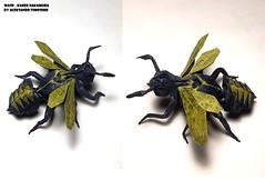 Wasp - Nakamura Kaede (shooroop83) Tags: origami wasp nakamura kaede insect